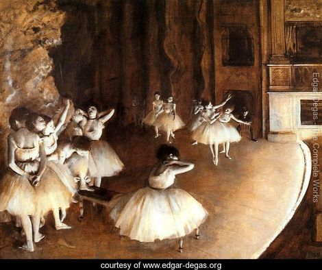 The-Ballet-Rehearsal-on-Stage
